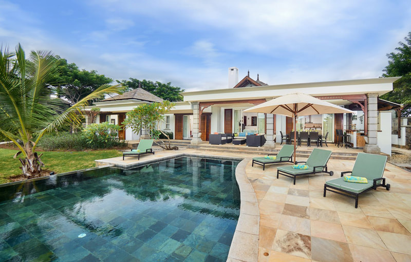 Luxury Villa in Mauritius in exceptional settings.
